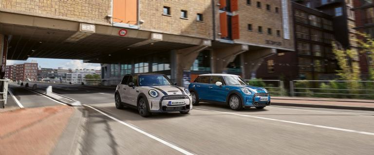 New MINI hatch range