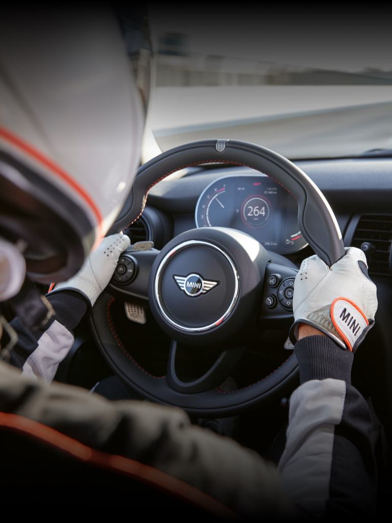MINI John Cooper Works GP – steering wheel – cockpit