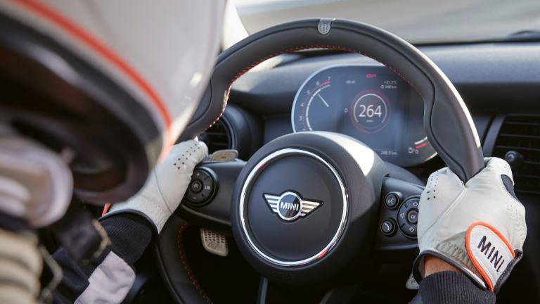 MINI John Cooper Works GP – steering wheel – walknappa leather